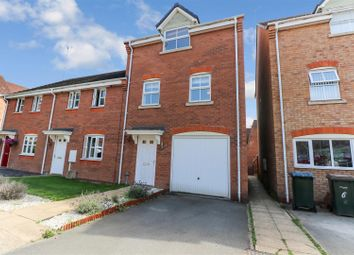 Thumbnail 3 bed town house for sale in Blanchfort Close, Coventry