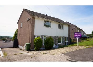 Thumbnail 2 bed semi-detached house for sale in St. Lukes Close, Pontyclun