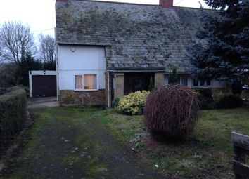 Thumbnail 3 bed semi-detached house to rent in Church Lane, Mollington