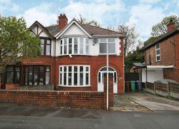 Thumbnail 3 bedroom semi-detached house to rent in Kingsway, Manchester