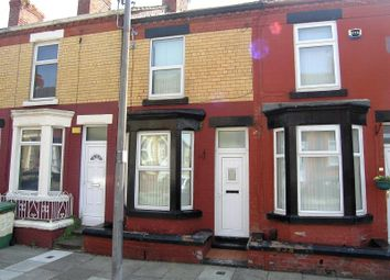 Thumbnail 2 bed terraced house for sale in Yelverton Road, Birkenhead, Wirral