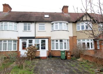 Thumbnail 4 bed terraced house for sale in Kingston Avenue, North Cheam, Sutton