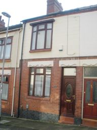 Thumbnail 2 bedroom terraced house to rent in Bradford Terrace, Birches Head, Stoke On Trent