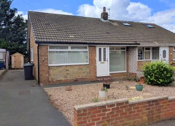 Thumbnail 3 bed semi-detached bungalow for sale in Priory Walk, Mirfield, West Yorkshire