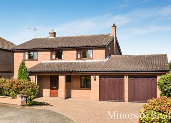 Thumbnail 4 bed detached house for sale in Spinney Close, North Cove, Beccles