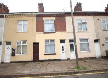 Thumbnail 2 bed terraced house for sale in Boundary Road, Leicester, Leicestershire