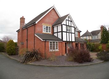 Thumbnail 5 bedroom detached house to rent in Druitt Court, Haslington, Crewe