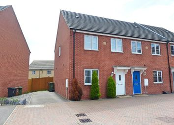 Thumbnail 3 bed end terrace house for sale in Venus Way, Cardea, Peterborough