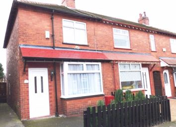 Thumbnail 2 bed semi-detached house to rent in Crown Street West, Macclesfield