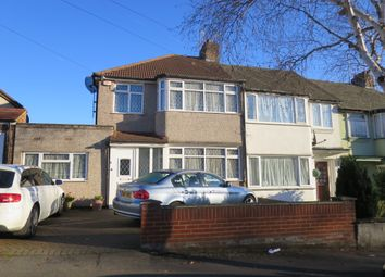 Thumbnail 4 bed end terrace house to rent in Clare Road, Greenford