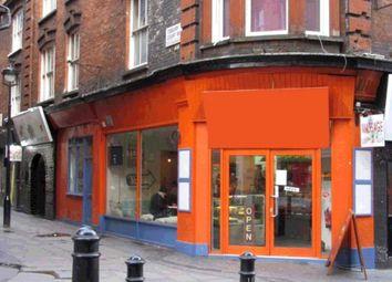 Thumbnail Retail premises to let in Rupert Street, Soho