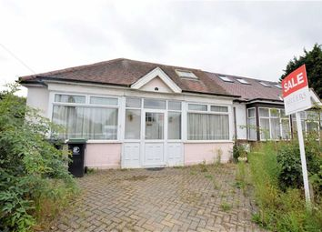 Thumbnail 1 bed semi-detached bungalow for sale in Bassett Gardens, North Weald, Epping