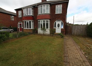 Thumbnail 3 bed semi-detached house to rent in South View, Eaglescliffe, Stockton-On-Tees