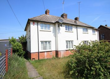 Thumbnail 3 bed semi-detached house for sale in Gipping Road, Great Blakenham, Ipswich, Suffolk