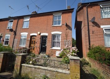 Thumbnail 2 bed end terrace house for sale in Castle Road, Hadleigh, Ipswich