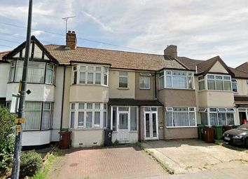 Thumbnail 3 bed terraced house to rent in Dagenham Road, Rush Green, Romford