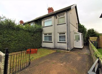 Thumbnail 3 bed semi-detached house to rent in Cambria Road, Cardiff