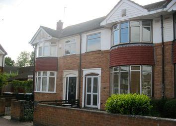 Thumbnail 3 bed terraced house to rent in Foxford Crescent, Aldermans Green, Coventry