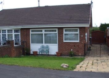 Thumbnail 1 bed bungalow to rent in Aries Close, Packmoor Stoke On Trent