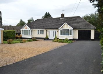 Thumbnail 3 bed detached bungalow for sale in Christ Church Lane, Market Drayton