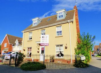 Thumbnail 5 bed detached house for sale in Townsend Way, Parkhill, Lowestoft