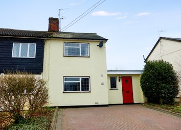 Thumbnail 2 bed semi-detached house for sale in Chappel Road, Great Tey, Colchester