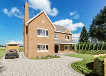 Thumbnail 4 bed detached house for sale in Chester Road, Daresbury