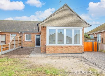 Thumbnail 3 bed semi-detached bungalow for sale in Mill Lane, Bradwell, Great Yarmouth
