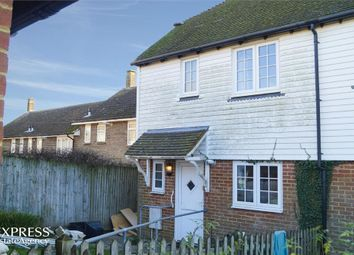 Thumbnail 3 bed end terrace house for sale in The Tollgate, Staplecross, Robertsbridge, East Sussex