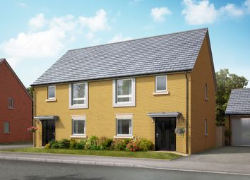 "Thumbnail 3 bed semi-detached house for sale in ""The Brocton"" at Lakeside Boulevard, Cannock"