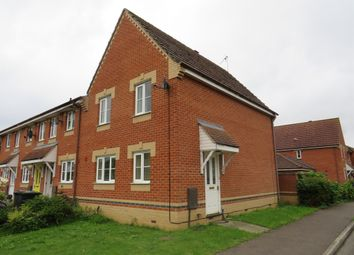 Thumbnail 3 bed end terrace house for sale in Morton Close, Ely