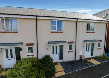 Thumbnail 2 bed terraced house for sale in Burrough Fields, Cranbrook, Exeter