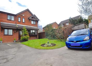 Thumbnail 4 bedroom detached house for sale in Hazelwood Close, Hyde