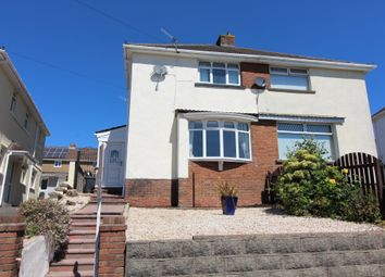 Thumbnail 3 bed semi-detached house for sale in Highfield Crescent, Pontllanfraith, Blackwood
