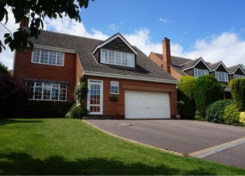 Thumbnail 4 bed detached house for sale in 10 Ashmole Close, Lichfield