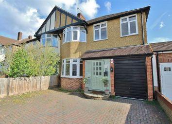 Thumbnail 4 bed semi-detached house to rent in Pembridge Avenue, Twickenham