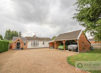 Thumbnail 3 bed bungalow for sale in Spexhall, Halesworth
