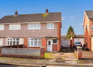 Thumbnail 3 bed semi-detached house for sale in Lincoln Drive, South Wigston, Leicester
