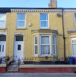 Thumbnail 3 bed terraced house to rent in Robarts Road, Anfield, Liverpool