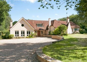 Thumbnail 6 bed detached house for sale in School Road, West Wellow, Romsey