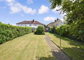 4 bed semi-detached house for sale in Rectory Lane South, Leybourne, Kent ME19