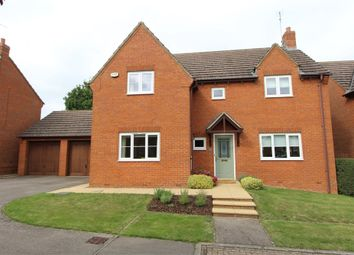 Thumbnail 4 bed detached house for sale in Rose Dale, North Kilworth, Lutterworth