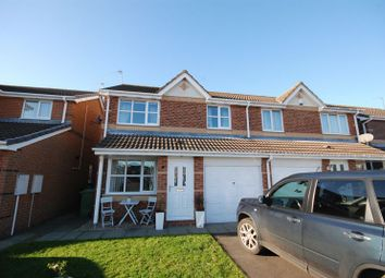 Thumbnail 3 bed semi-detached house for sale in Larchwood Drive, Ashington