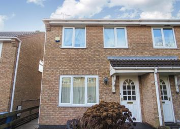 Thumbnail 3 bed semi-detached house for sale in Raleigh Close, Ilkeston