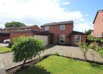 Thumbnail 3 bed detached house for sale in Sanderson Close, Carlisle