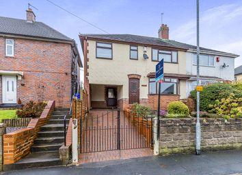 Thumbnail 4 bedroom semi-detached house for sale in Cherry Grove, Blurton, Stoke-On-Trent