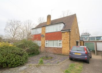 Thumbnail 3 bed semi-detached house for sale in Chaplin Crescent, Sunbury-On-Thames, Surrey