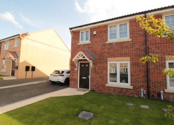 Thumbnail 3 bed semi-detached house for sale in Dyce Close, Eaglescliffe, Stockton-On-Tees, Durham