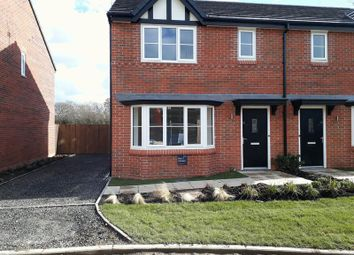 Thumbnail 3 bed semi-detached house for sale in Samuel Twemlow Avenue, Winterley, Sandbach