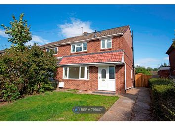 Thumbnail 4 bed semi-detached house to rent in Meadow Road, Henley-In-Arden